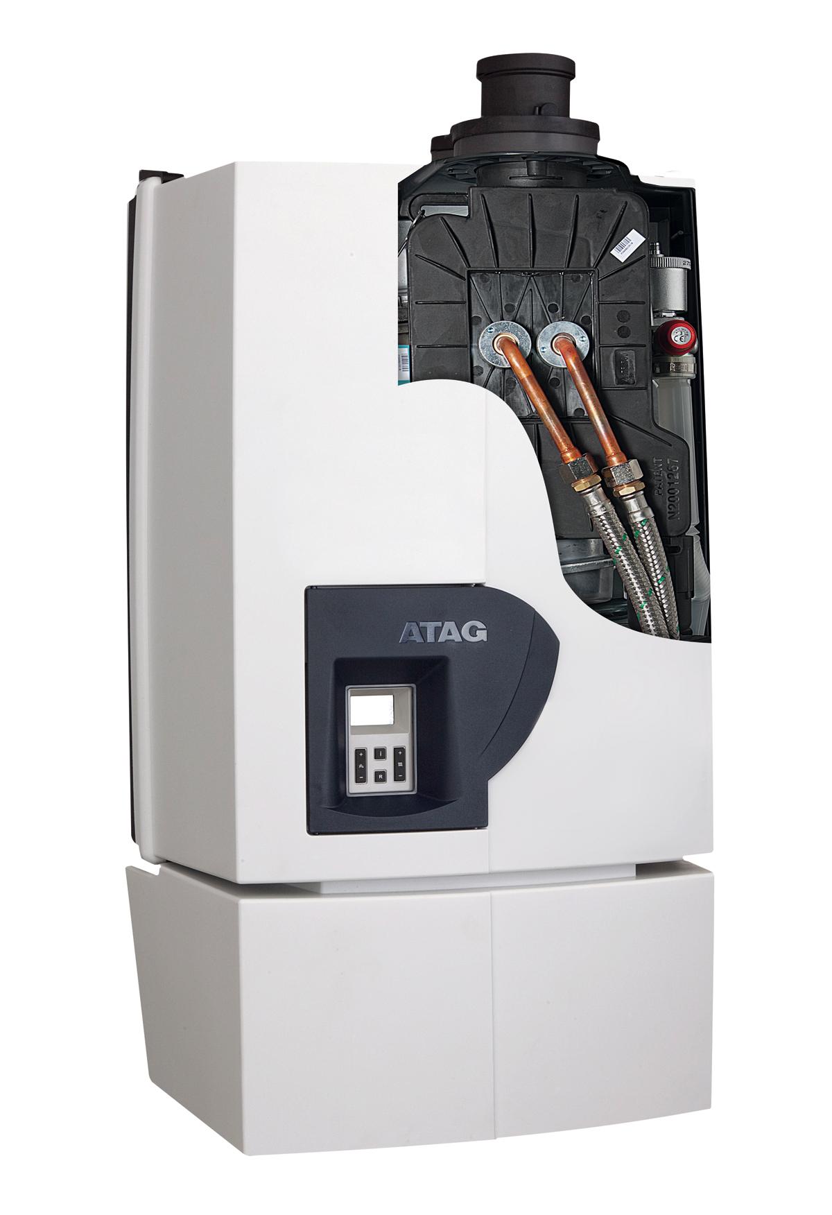 Atag a serie eco caldaia a condensazione for Temperatura acqua caldaia termosifoni